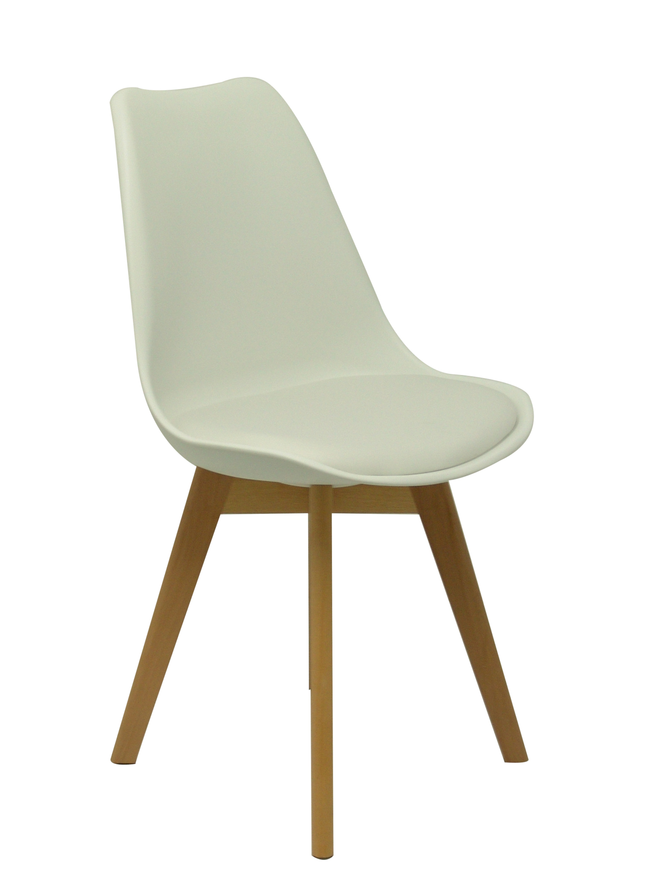Pack Of 4 Chairs Confident Ergonomic And With Wooden Structure Lifelike Beech Style Tower-Seat And Backrest