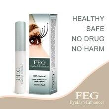 FEG Eyelash Enhancer Serum Eyebrows Growth Treatment Natural Medicine Eye Lashes Eyebrow Lengthening Longer TSLM1
