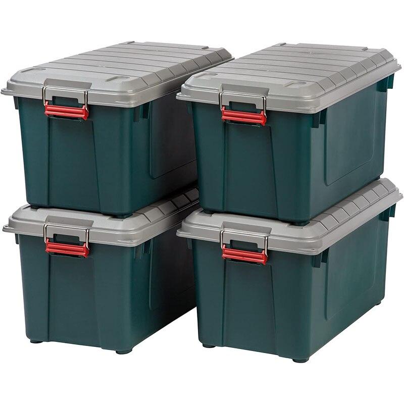 Экспедиционный ящик IRIS RV BOX 700 / Айрис бокс 700 62 литра. Скидка на комплект 4 шт!|Задние багажники и аксессуары| | АлиЭкспресс