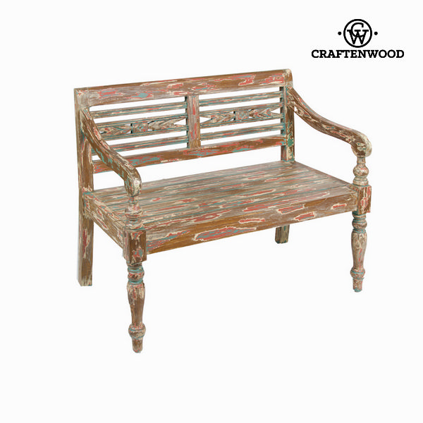 Bench With Backrest Acacia (99 X 55 X 87 Cm) By Craftenwood