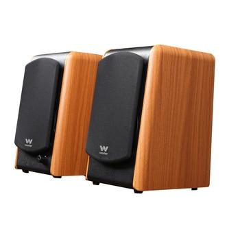 Woxter Dynamic Line DL-610 Wooden - Altavoces 2.0 180w, estantería, Home Cinema,...