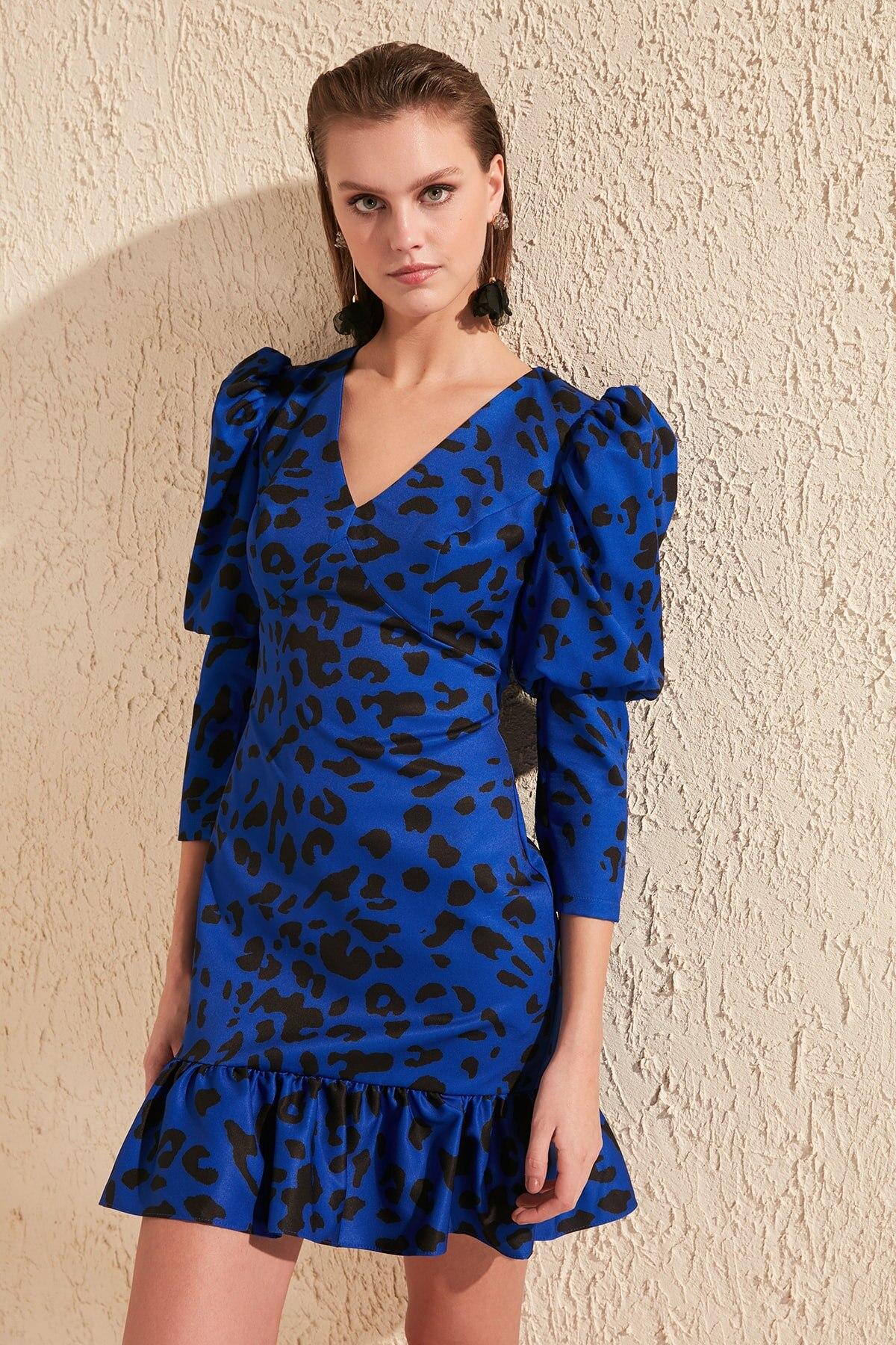 Trendyol Cap Sleeves Dress TPRSS20EL0957