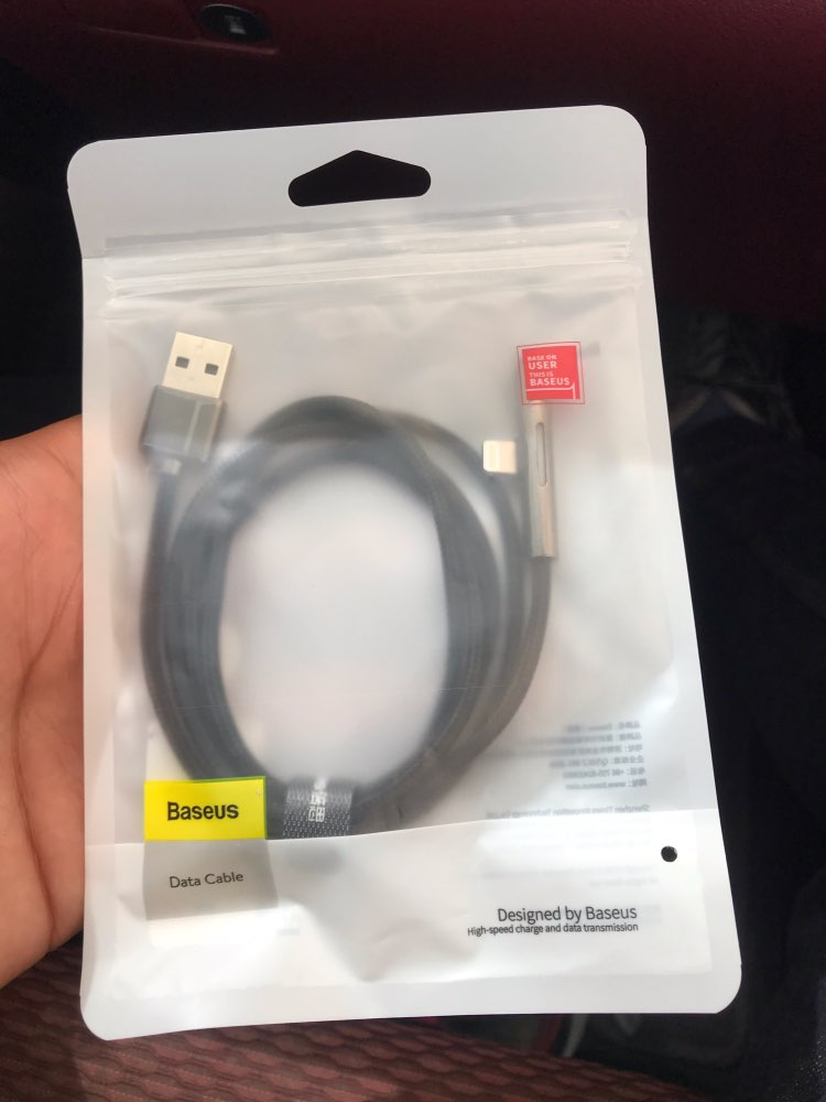 Baseus USB Cable for iPhone XS XR 11 Pro Max USB Charger Data Cable LED Elbow 2.4A Fast Charging Cable for iPhone Data Sync Cord-in Mobile Phone Cables from Cellphones & Telecommunications on AliExpress - 11.11_Double 11_Singles' Day