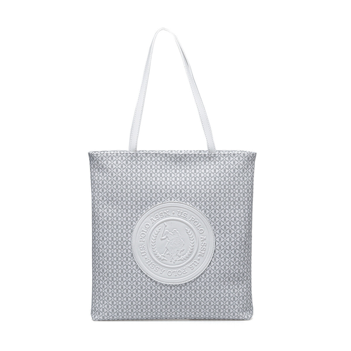FLO US20224 White Women Shoulder Bag U.S. POLO ASSN.