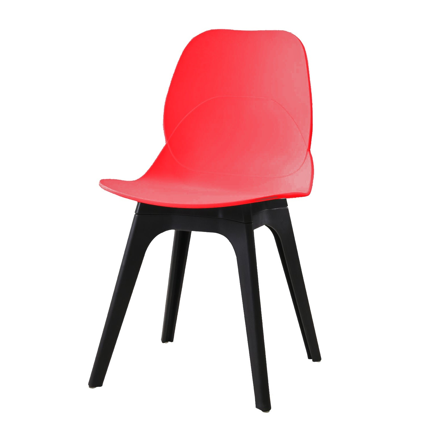 Chair ARIES, Black Polypropylene And Network