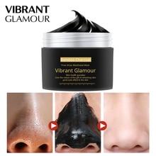лучшая цена New Bamboo Charcoal Blackhead Remover Nose Mask Peeling Mask Deep Cleansing Shrink Pore Moisturizing Skin Care