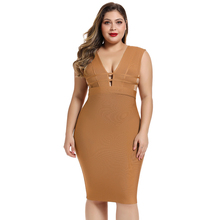 Maketina 2019 Cut Out Plus Size Bandage Dress Women High Quality Rayon Bandage Dress XL Sexy Club Party Plus Size Bodycon Dress недорого