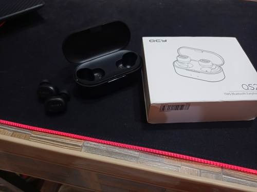 QCY QS2 TWS Mini Bluetooth V5.0  Earphones True Wireless Headphones 3D Stereo Sound Earbuds Dual Microphone Charging Box|Phone Earphones & Headphones|   - AliExpress