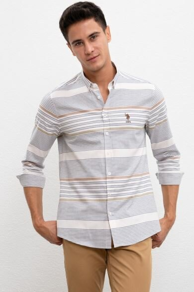U.S. POLO ASSN. Reported Slim Shirt