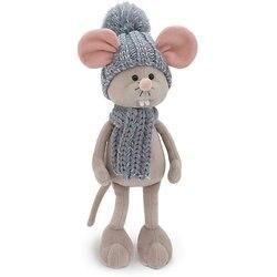 Soft toy Orange Toys Mouse Masya 20 cm, blue