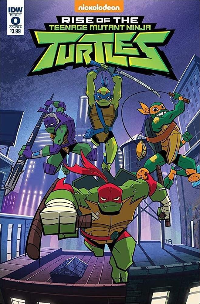 忍者神龟崛起第一季