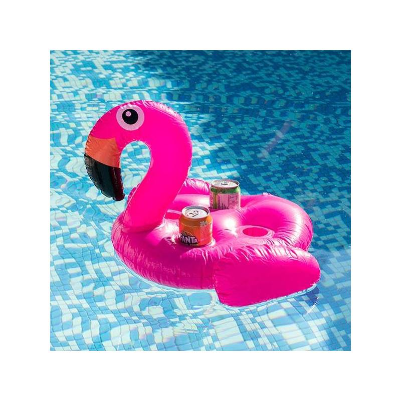 Can Holder Inflatable Flamingo (4 Cans)