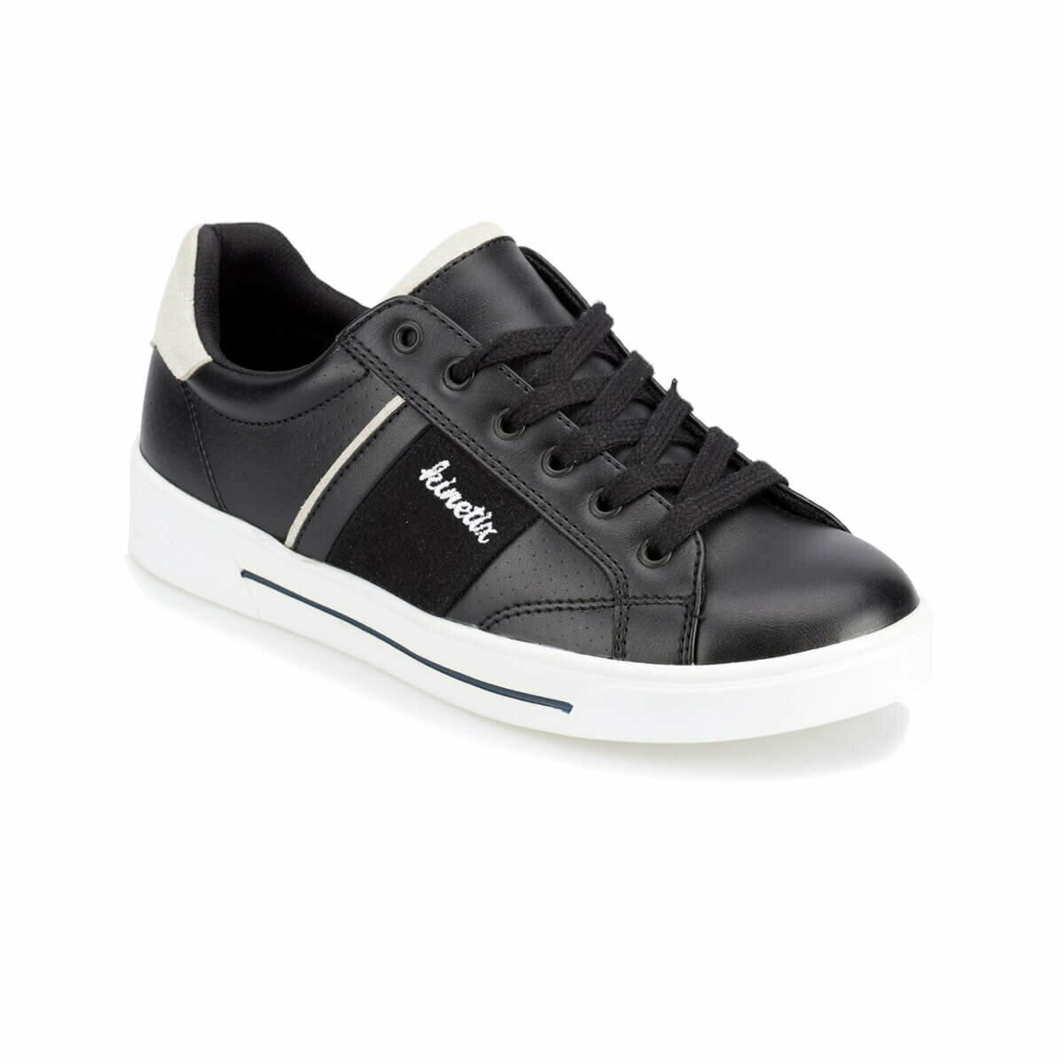 FLO BENIN Black Women 'S Sneaker Shoes KINETIX