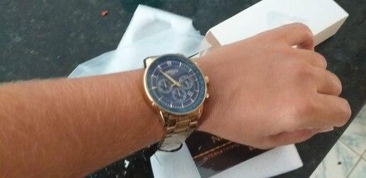 Relógios de quartzo nibosi militar chronograph
