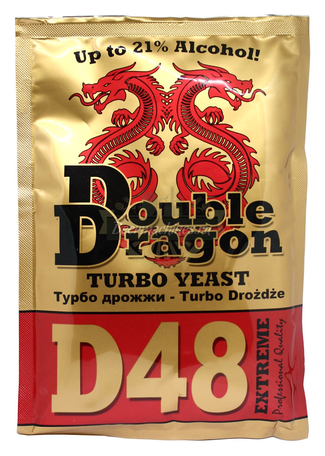 Turbo Yeast DoubleDragon D48, 132g