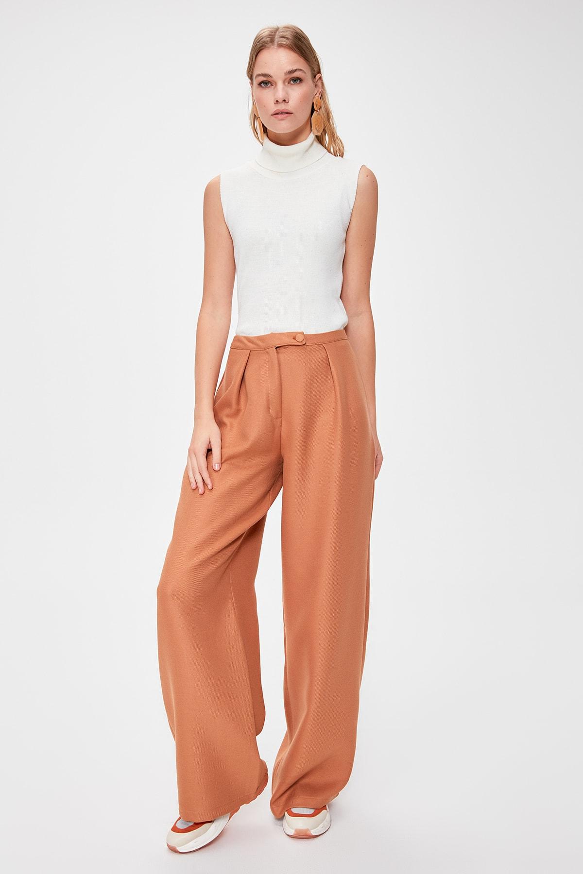 Trendyol Flare Pants TWOAW20PL0495