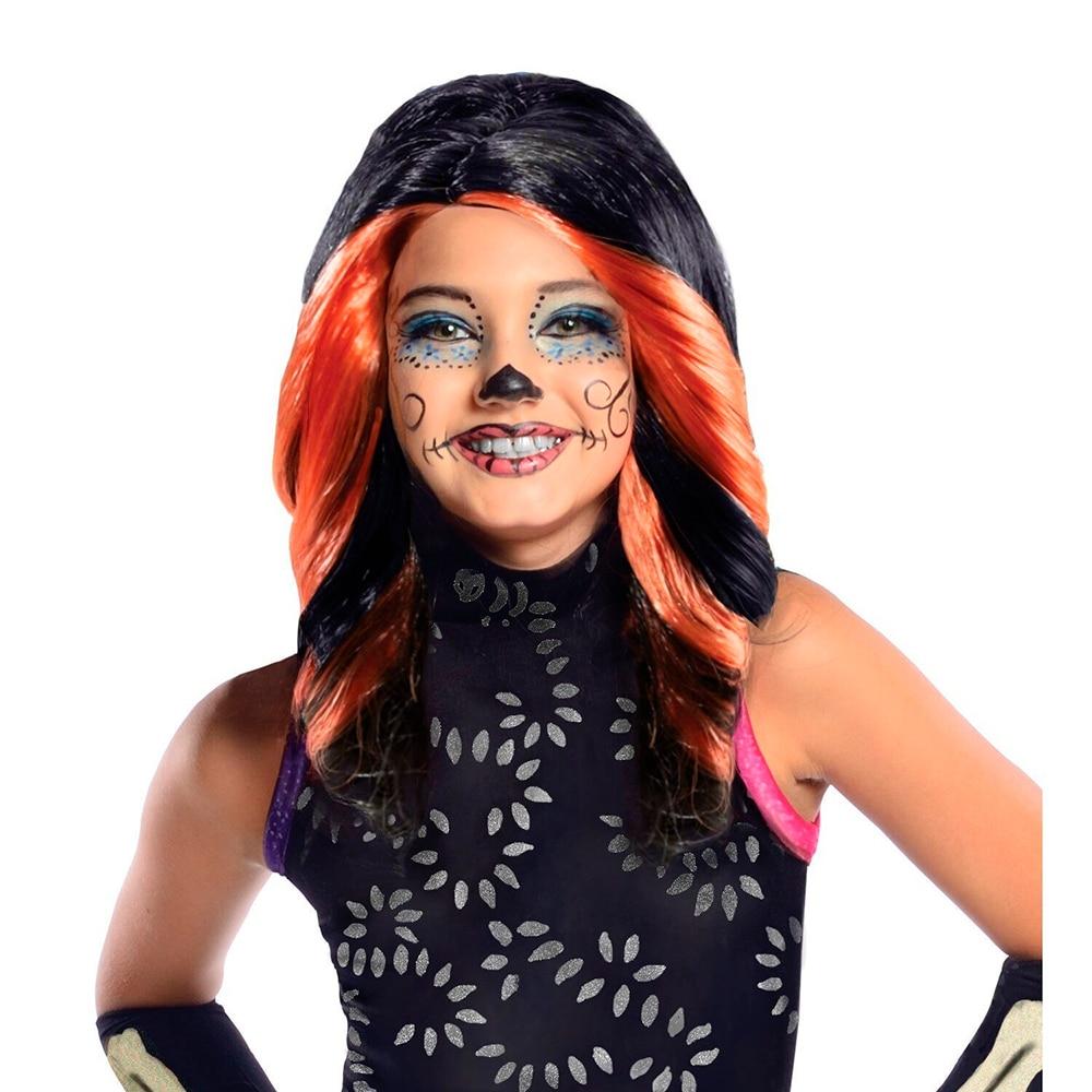 Carnival wig Rubies Monster High Скелита series Скариж кукла monster high скелита