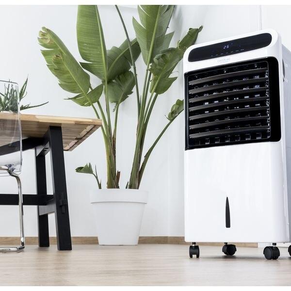 Ev Aletleri'ten Fanlar'de Taşınabilir evaporatif HAVA SOĞUTUCU Cecotec Forcesilence PureTech 6500 beyaz title=