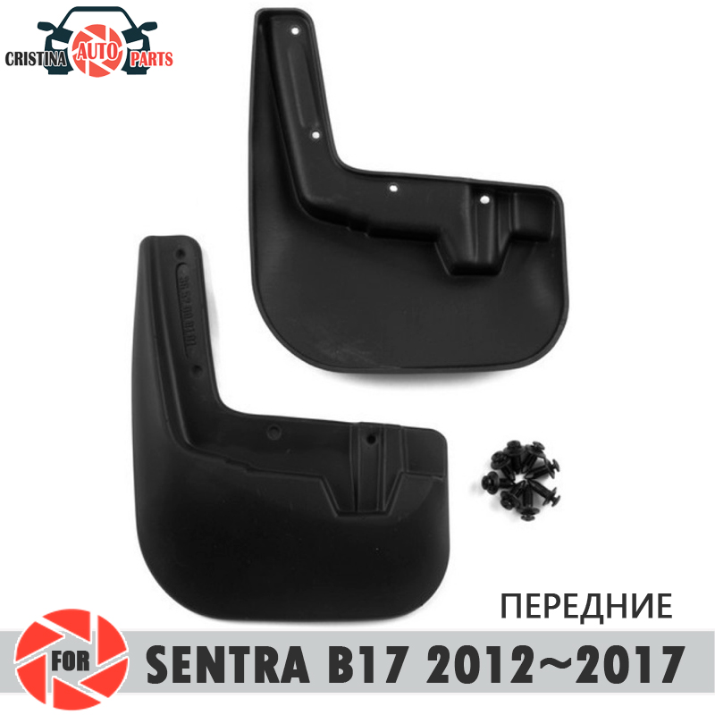 Car mud flaps for Nissan Sentra 2012~2017 mudflaps splash guards mud flap front mudguards fender car accessories цена