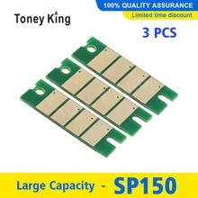 Toney King 3 шт. SP150 SP150he чип тонера для Ricoh SP150su SP150w SP150suw SP 150 150SU 150w 150SUw 150he чипы картриджа