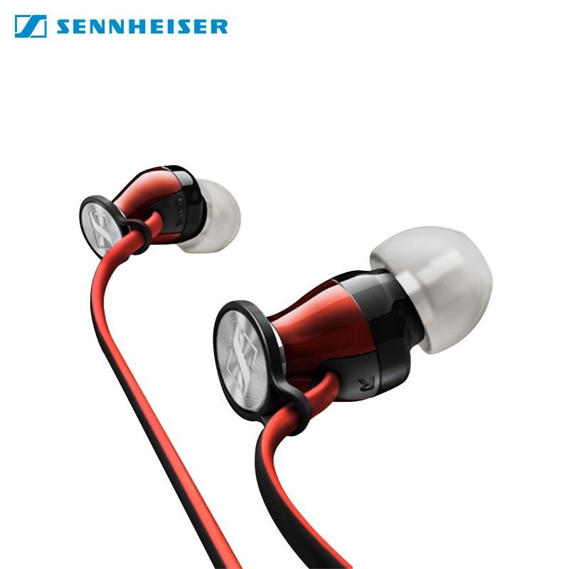 лучшая цена Earphones Sennheiser M2 IEI with microphone for phone for iphone in-ear