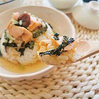 温暖治愈 日式三文鱼梅子茶泡饭的做法图解11