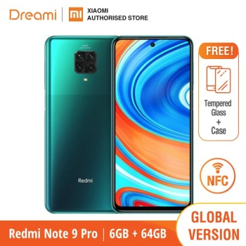 Global Version Xiaomi Redmi Note 9 Pro 6GB RAM 64GB ROM (Brand New / Sealed) redminote9pro, note9pro, Smartphone mobile 2