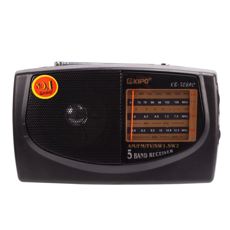 Radio KIPO radio KB-308AC avec une large gamme, démodulateur numérique FM/AM radio stéréo