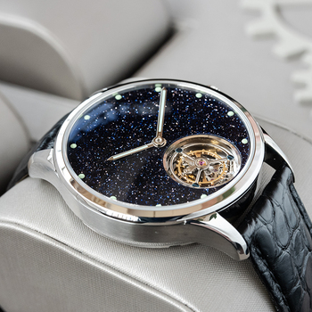 Sugess Tourbillon Master Mens Watch 2020 Blue GoldStone Limited Edition Luxury Business Watches Father Gift Seagull Movement 2