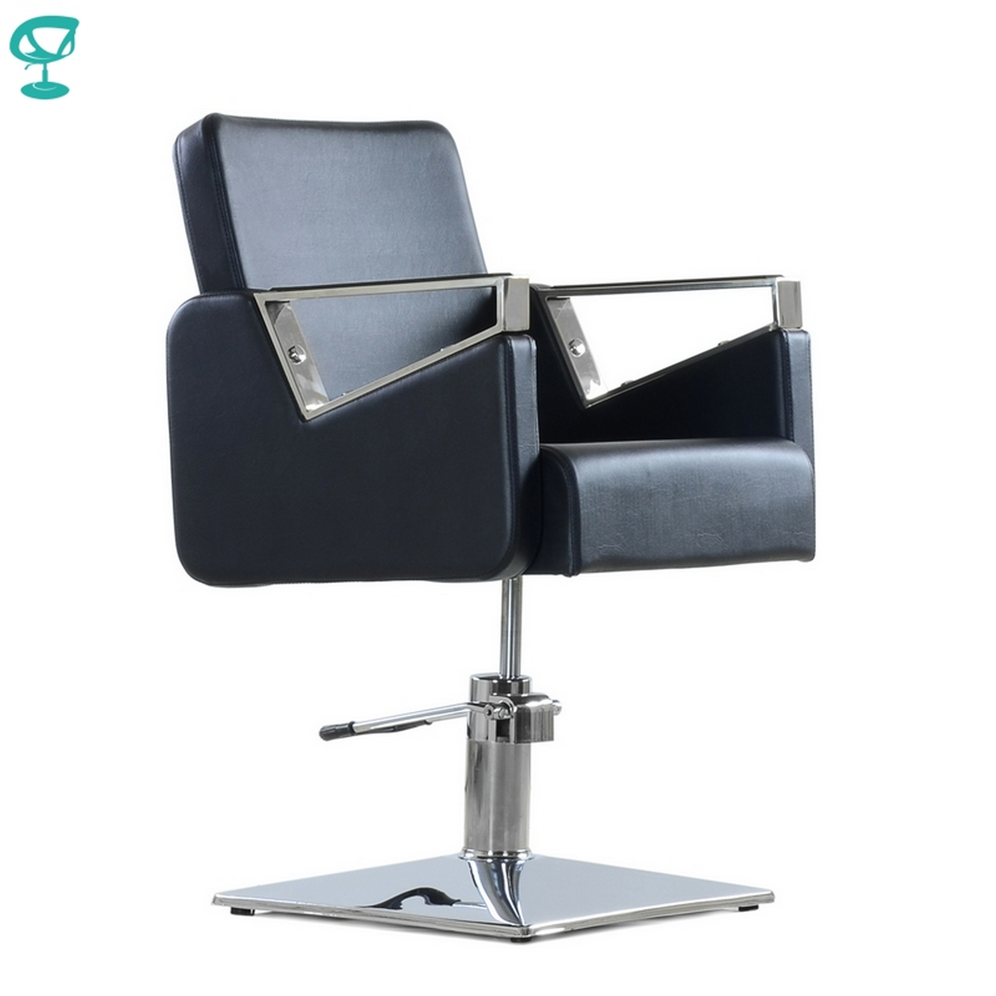 95707 Barneo 6300V5 Chair Salon Chair Black Chair барбершопа Chair Free Shipping To Russia