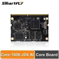 Smartfly-Placa de núcleo de AI Core-1808-JD4 Firefly, Chip RK1808 AI, de doble núcleo Cortex-A35, compatible con TensorFlow/Caffe/ONNX/Darknet acoplado