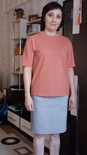 Casual O-neck Summer Top Korean Tshirt photo review