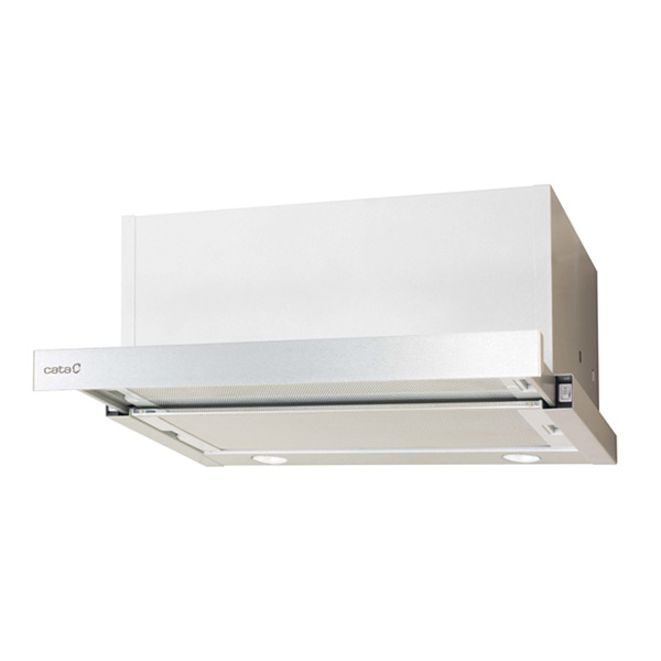 Conventional Hood Cata TF6600 DURALUM 60 Cm 645 M3/h 67 DB 240W Stainless Steel