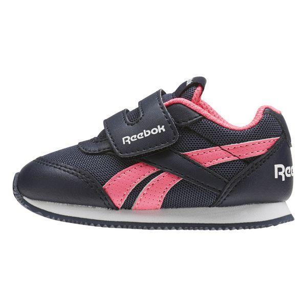 Sports Shoes for Kids Reebok Royal CLJOG 2 KC Blue Pink