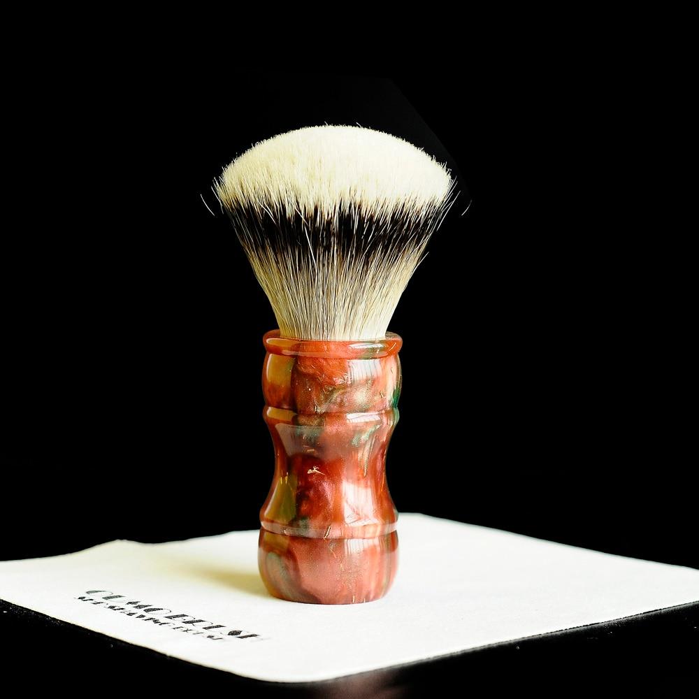 Image 5 - OUMO BRUSH   2019/9/18 Terracotta Warriors shaving brush with SHD HMW silvertip gel city 26MM28MM-in Shaving Brush from Beauty & Health