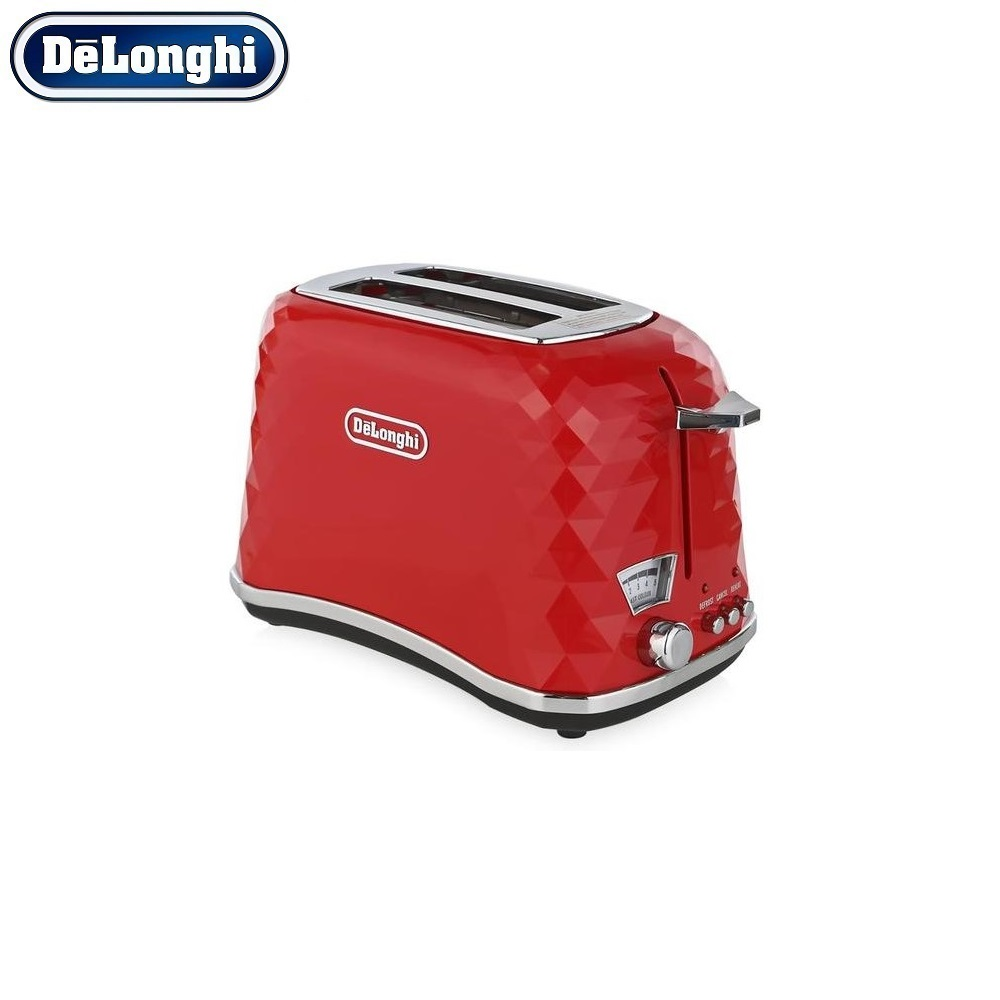 Toasters DeLonghi Brillante CTJ 2103.BK home kitchen appliances cooking toaster fry bread to make toasts