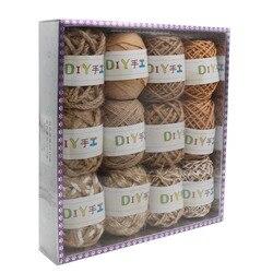 Cuerdas decorativas surtidas 3ar547, 100% yute, 12 unids/caja