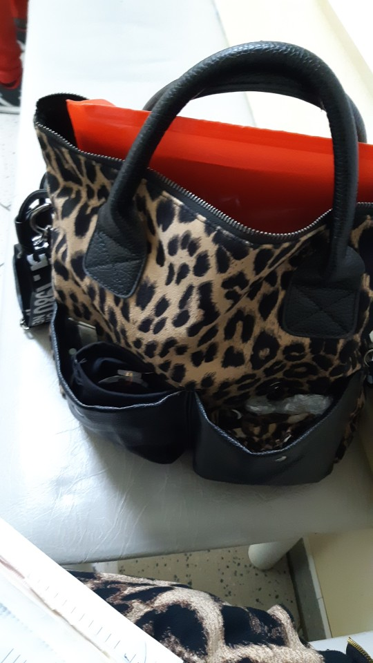 Bolsa a tiracolo Wb1405 Wb1405 Leopardo