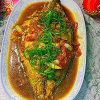 红烧番茄鱼的做法图解15
