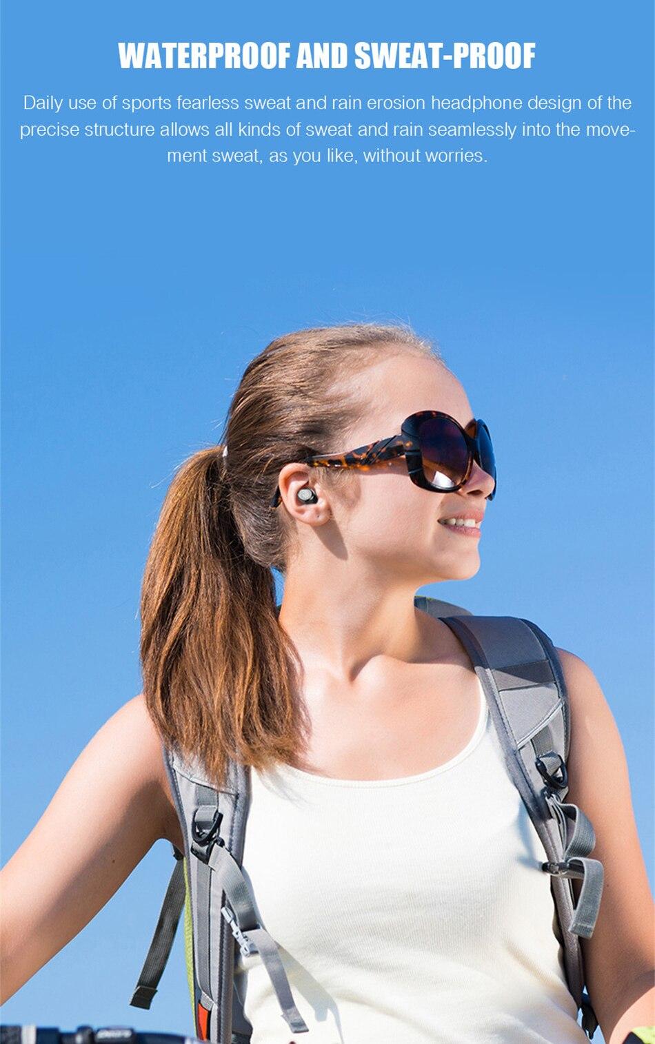 Wireless Earphone Bluetooth V5.0 Wireless Bluetooth Headphone LED Display With 2000mAh Power Bank Stereo Sport Headset With Mic (15)