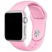 Ремешок спортивный Eva для Apple Watch 38mm Розовый(AVA001P