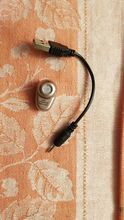 For such money, the earphone is good. Easy, does not fall out. With the phone, it goes quickly.