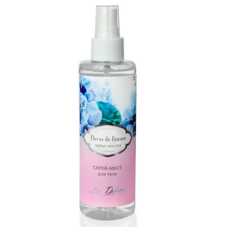 Spray Mist Body Velvet Violets, Series Fleurs De France 200g