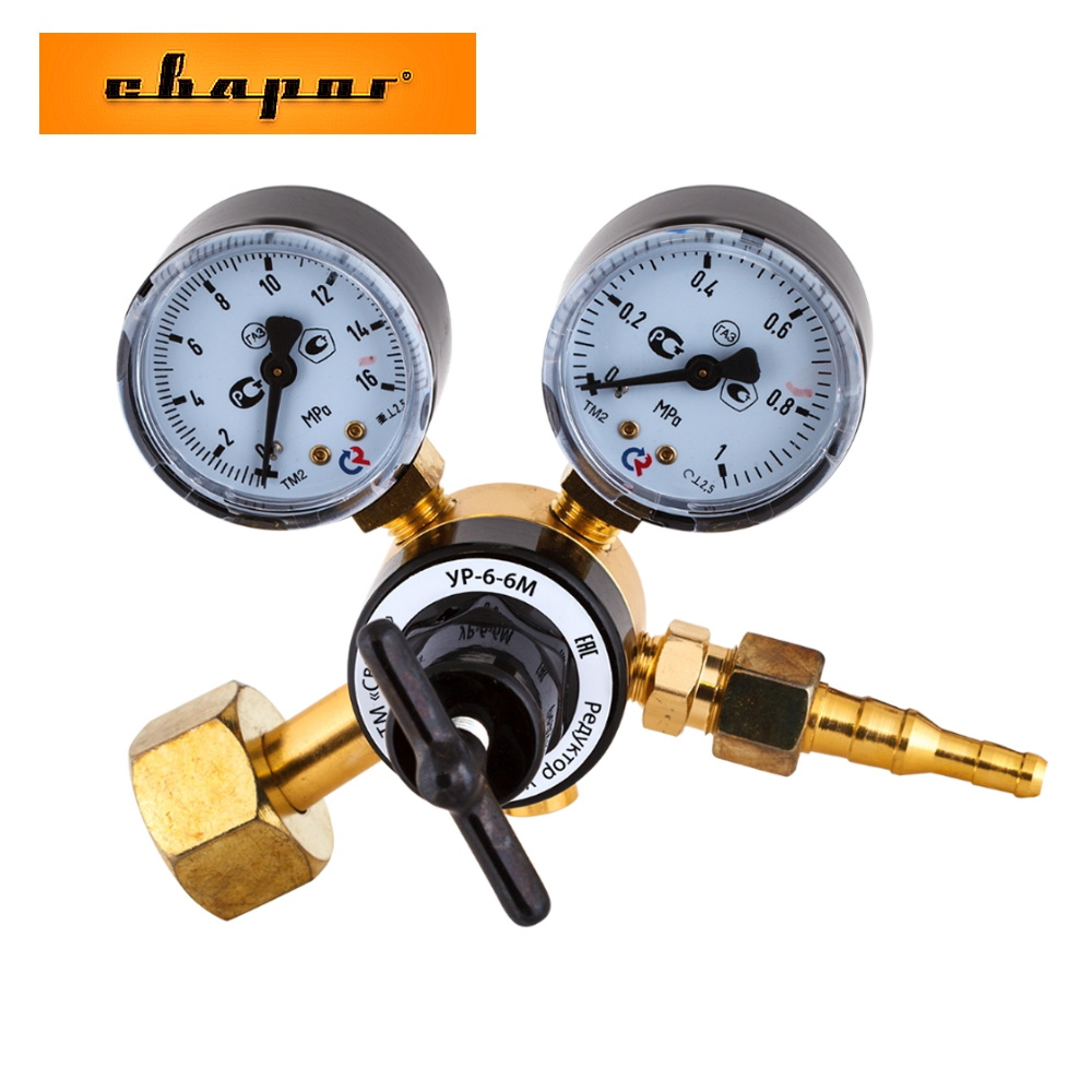 Reducer углекислотный Svarog УР-6-6М For The Reduction And Regulation Of Gas  Maintaining A Constant Operating Pressure Accessory For Welding