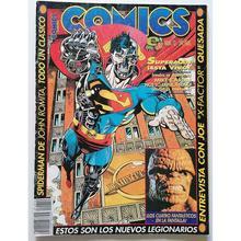 COMIC SCENE Nº 12 Edición española de esta revista americana de 1993, comics y peliculas.