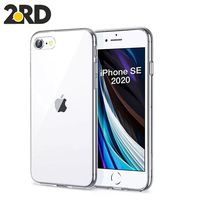 Luxury Clear Soft TPU Case For iPhone SE 2020 Transparent Phone Case For iPhone SE 2020