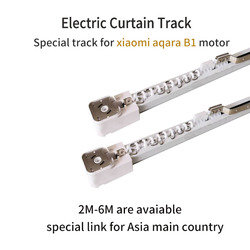 Elektrische Gordijn Track voor Xiaomi aqara B1 motor Aanpasbare Super Heel voor smart home voor Asial land