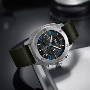 Image 3 - DOM montre de Sport pour hommes, horloge à Quartz, marque de luxe, étanche, style M 1229L 1M2