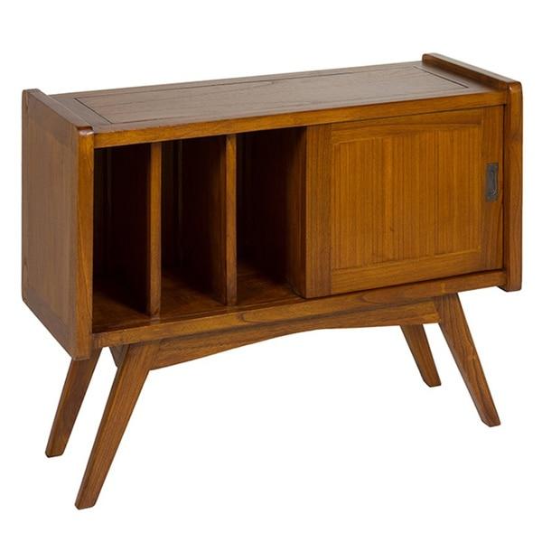Sideboard (98 X 38 X 75 Cm) Shelves Mindi Wood