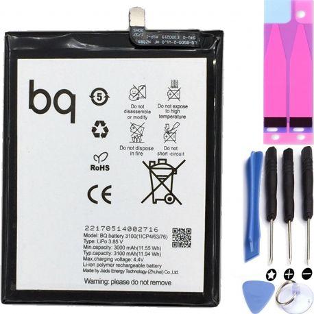 Battery For BQ Aquaris X Pro